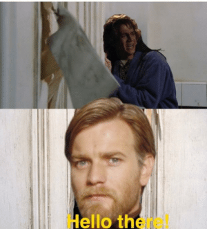 When you hear that Ewan McGregor has been casted to the Shining Sequel.: Hello there When you hear that Ewan McGregor has been casted to the Shining Sequel.