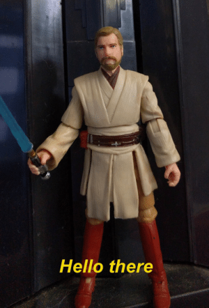 Hello, Ewan McGregor, and Pictures: Hello there When you realize posting pictures of an Obi Wan action figure is technically not Ewan McGregor