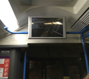 help! i don't know where my bus is headed but the monitor is loading for another dimension so it can't be good: help! i don't know where my bus is headed but the monitor is loading for another dimension so it can't be good