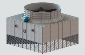 Help me make a cheesy meme about this cooling tower with a face for my presentation on cooling towers tomorrow: Help me make a cheesy meme about this cooling tower with a face for my presentation on cooling towers tomorrow