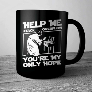 Help me Stack Overflow!: HELP ME  OVERFLOW  STACK  YOU'RE MY  ONLY HOPE Help me Stack Overflow!