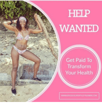 """Want to get paid to live a healthy, fit life, while sharing your journey on social media? Reach YOUR fitness goals and help other women reach theirs too? . You don't need to be an expert, super fit, or good at sales. aintNoSelling 🙅🏾 You don't need any certifications. You just have to have a heart for helping others and the need to want to better for yourself. . No experience is necessary as training is included. You MUST be hardworking, self-motivated and focused to make a difference in the lives of others. . If interested please leave your email below WITHOUT the """".com"""" AND click the link in @kismet_karma6ft bio, & select """"Get Paid To Get Fit"""" from the drop down list. . U.S, Canada, U.K only 💜: HELP  WANTED  Get Paid To  Transform  Your Health  Www.EXODUSUFESTYLETRAINERCOM Want to get paid to live a healthy, fit life, while sharing your journey on social media? Reach YOUR fitness goals and help other women reach theirs too? . You don't need to be an expert, super fit, or good at sales. aintNoSelling 🙅🏾 You don't need any certifications. You just have to have a heart for helping others and the need to want to better for yourself. . No experience is necessary as training is included. You MUST be hardworking, self-motivated and focused to make a difference in the lives of others. . If interested please leave your email below WITHOUT the """".com"""" AND click the link in @kismet_karma6ft bio, & select """"Get Paid To Get Fit"""" from the drop down list. . U.S, Canada, U.K only 💜"""