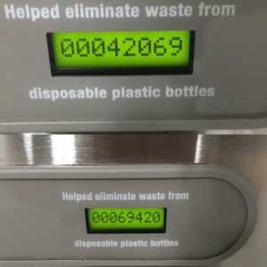 Nice: Helped eliminate waste from  G0042069  disposable plastic bottles  Helped eliminate waste from  00069420  disposable plastic bottles Nice