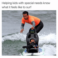 Follow my other account @tanksgoodnews if you want your timeline blessed with good news: Helping kids with special needs know  what it feels like to surf  BEST DAY Follow my other account @tanksgoodnews if you want your timeline blessed with good news