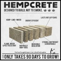 Anaconda, Energy, and Facebook: HEMP CRETE  DESIGNED TO BUILD,NOT TO SMOKE. yat  LASTS 100 S OF YEARS  HEMP LIME WATER ENERGY EFFICIENT  STRONG, LIGHTWEIGHT  FLAME, WATER  CREDIBLE  & BREATHABLE  &PEST RESISTANT  NATURALLY  NSULATION  NON-TOXIC  The FreeThoughtProject.Com lisEndTheDrugWar  ONLY TAKES 90 DAYS TO GROW! 💭 Hempcrete can and WILL Change the World!!! 🙌 Join Us: @TheFreeThoughtProject 💭 TheFreeThoughtProject Hemp EndTheDrugWar 💭 LIKE our Facebook page & Visit our website for more News and Information. Link in Bio.... 💭 www.TheFreeThoughtProject.com