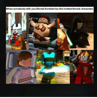 Can someone pls upload Star Wars Lego complete saga hottest moments to YouTube: hen somebody tells you Mortal Kombat has the hottest female characters Can someone pls upload Star Wars Lego complete saga hottest moments to YouTube