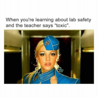 "I feel the presence of Godney in this Intro to Chem course 🙌🏼: hen you're learning about lab safety  and the teacher says ""toxic"". I feel the presence of Godney in this Intro to Chem course 🙌🏼"