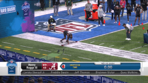 HENRY RUGGS III. 4.28u 🔥🔥🔥  @AlabamaFTBL | @__RUGGS  📺: #NFLCombine on @NFLNetwork https://t.co/vCm6JC9T2s: HENRY RUGGS III. 4.28u 🔥🔥🔥  @AlabamaFTBL | @__RUGGS  📺: #NFLCombine on @NFLNetwork https://t.co/vCm6JC9T2s