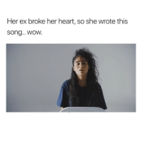 Love, Music, and Wow: Her ex broke her heart, so she wrote this  song.. wOW. maybe she snapped on this one.. her name is @Jessiereyez and her music and message is incredible. go show some love 💕🎈