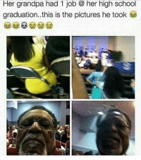 comment 1 I wanna see a thousand comments smh @hoodlives: Her grandpa had Job Q her high School  graduation..this is the pictures he took comment 1 I wanna see a thousand comments smh @hoodlives
