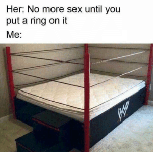 All the single ladies.. via /r/memes https://ift.tt/2wUWMW3: Her: No more sex until you  put a ring on it  Me: All the single ladies.. via /r/memes https://ift.tt/2wUWMW3