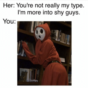 Creepy, Video Games, and Her: Her: You're not really my type  I'm more into shy guys  You: Just a little creepy 😂 https://t.co/aafGvWPUyC