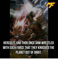 Easter, Facts, and Hype: HERCULES AND THOR ONCE ARM WRESTLED  WITH SUCH FORCE THAT THEY KNOCKED THE  PLANET OUT OF ORBIT |- Follow @marvelfact.ig for more!💪🏼 -| - - - - marvel marveluniverse dccomics marvelcomics dc comics hero superhero villain xmen apocalypse xmenapocalypse geekhype hype doctorstrange spiderman deadpool meme captainamerica ironman teamcap teamstark teamironman civilwar captainamericacivilwar marvelfact marvelfacts fact facts easter