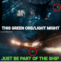 Ok guys, alot of you have been messaging me and commenting about the green light-orb that appears in the bottom photo that this may possibly be Green Lantern. There's another scene in the trailer where the green light appears on the flying fox. I'm going to assume that this light is coming from the ship. Both times this light appears its the same exact size and appears on the flying fox. Again this is just my opinion. I'm not saying its the definitive answer. flyingfox justiceleague justiceleaguetrailer greenlantern haldjordan johnstewart blackestnight dceu dc dccomics comicbooks: HERD  THIS GREEN ORB/LIGHT MIGHT  IG @HERO.DAILY  JUST BE PART OF THE SHIP Ok guys, alot of you have been messaging me and commenting about the green light-orb that appears in the bottom photo that this may possibly be Green Lantern. There's another scene in the trailer where the green light appears on the flying fox. I'm going to assume that this light is coming from the ship. Both times this light appears its the same exact size and appears on the flying fox. Again this is just my opinion. I'm not saying its the definitive answer. flyingfox justiceleague justiceleaguetrailer greenlantern haldjordan johnstewart blackestnight dceu dc dccomics comicbooks