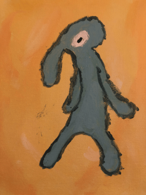 Here's my bad painting of Bold and Brash: Here's my bad painting of Bold and Brash