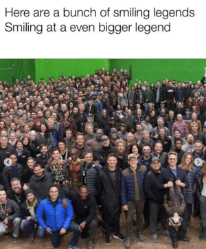 Dank, Memes, and Target: Here are a bunch of smiling legends  Smiling at a even bigger legend Ok then by D0wnl0adableC0ntent MORE MEMES