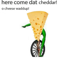 """Http, Cheese, and Via: here come dat cheddar!  o cheese waddup! <p>Here comes dat cheddar! o cheese waddup via /r/DatBoi <a href=""""http://ift.tt/2gIqUxM"""">http://ift.tt/2gIqUxM</a></p>"""