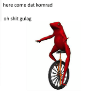 """<p>pls nyet (( via /r/DatBoi <a href=""""http://ift.tt/29RtcCE"""">http://ift.tt/29RtcCE</a></p>: here come dat komrad  oh shit gulag <p>pls nyet (( via /r/DatBoi <a href=""""http://ift.tt/29RtcCE"""">http://ift.tt/29RtcCE</a></p>"""