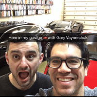 Gary Vaynerchuk stopped by my Knowledge Society Headquarters to shoot some hoops and talk some cutting edge entrepreneur trends. I'll release the video soon... #hereinmygaragewithgary @garyvee: Here in my garage  n with Gary Vaynerchuk Gary Vaynerchuk stopped by my Knowledge Society Headquarters to shoot some hoops and talk some cutting edge entrepreneur trends. I'll release the video soon... #hereinmygaragewithgary @garyvee