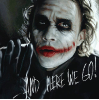 """Good Knight Gothamites! Tomorrow we will continue our session """"Batman's Year One in Detective Comics""""! I leave you tonight with a Heath Ledger Joker painting by illustrator Mariya riot! To see more of their works, please visit their websites at maryriotjane.deviantart.com, mariyariot.tumblr.com and vk.com-mariya_riot! As always, thanks for following, have a great night and we will have more History of the Batman tomorrow. Remember Gothamites, it's all about Peace, Love and Batman! ✌🏼💜🃏📽🎨🙏🏼: HERE WEGO Good Knight Gothamites! Tomorrow we will continue our session """"Batman's Year One in Detective Comics""""! I leave you tonight with a Heath Ledger Joker painting by illustrator Mariya riot! To see more of their works, please visit their websites at maryriotjane.deviantart.com, mariyariot.tumblr.com and vk.com-mariya_riot! As always, thanks for following, have a great night and we will have more History of the Batman tomorrow. Remember Gothamites, it's all about Peace, Love and Batman! ✌🏼💜🃏📽🎨🙏🏼"""