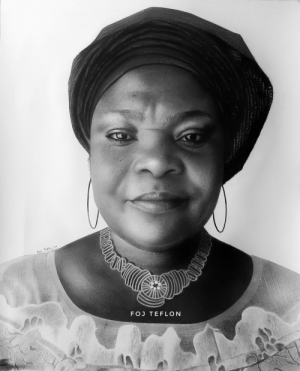Here's a pencil drawing of my mom for her 50th birthday.. the first person who actually encouraged my passion for arts when I was young ❤: Here's a pencil drawing of my mom for her 50th birthday.. the first person who actually encouraged my passion for arts when I was young ❤
