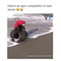 Too epic😱🙌😂 Tag a friend Follow us @laugh.r.us: Here's an epic compilation of dad  saves  youtube.com/bestchannell Too epic😱🙌😂 Tag a friend Follow us @laugh.r.us