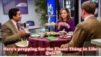Head, Life, and Memes: Here's prepping for the Finest Thing in Life:  Quiz Bears, Beets, Bonus Questions: An Office Quiz is tomorrow and Dallas/Fort Worth is sold out!  Head over to our events page to share your excitement,  your costume ideas, and smack talk the competition.