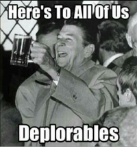 deplorable: Here's To Allo US  Deplorables