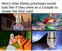 Disney, Princess, and Catholic: Here's what Disney princesses would  look like if they were on a Crusade to  retake the Holy Land