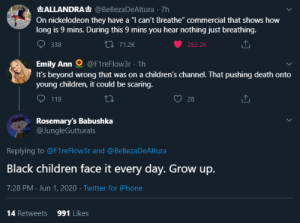 hergrandplans:  this is what the screen looks like. this is not going to scare a child. we need to teach the youth that racism is wrong, so they grow up knowing they can't allow it to be tolerated. what's going on the world is really scary, for children and adults. but ignoring it does not make it go away. we need to teach kids to stand up when something is wrong.  : hergrandplans:  this is what the screen looks like. this is not going to scare a child. we need to teach the youth that racism is wrong, so they grow up knowing they can't allow it to be tolerated. what's going on the world is really scary, for children and adults. but ignoring it does not make it go away. we need to teach kids to stand up when something is wrong.
