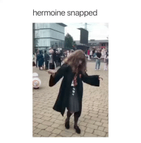 Girl Memes, Snapped, and Why: hermoine snapped why am I laughing at this