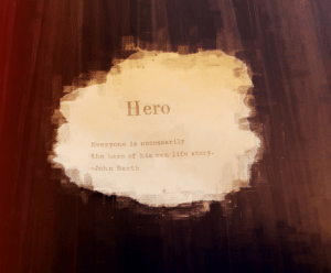 9/11, Life, and Tumblr: Hero  Everyone is necessarily  the hero of his own life story.  -John Barth sweetasruby:My Hero was my Father who passed on 9/11 as a firefighter. Who is your hero?