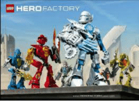Hey bois, look at the new bionicle sets: HERO FACTORY Hey bois, look at the new bionicle sets