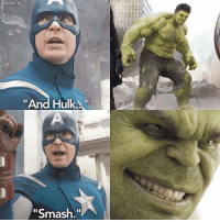 "Memes, Smashing, and Hulk: @heroes ig  ""And Hulk.  ""Smash @heroes_ig - i hope we see a bad ass fight scene with Hulk in Thor Ragnarok 😩"