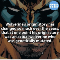 Batman, Memes, and Superhero: HEROES  Wolverine's origin story has  changed so much over the years,  that at one point his origin story  was an actual wolverine who  was genetically mutated. ▲▲ - What's your favourite superhero origin? - My other IG accounts @factsofflash @yourpoketrivia @webslingerfacts ⠀⠀⠀⠀⠀⠀⠀⠀⠀⠀⠀⠀⠀⠀⠀⠀⠀⠀⠀⠀⠀⠀⠀⠀⠀⠀⠀⠀⠀⠀⠀⠀⠀⠀⠀⠀ ⠀⠀--------------------- batmanvssuperman xmen batman superman wonderwomen deadpool spiderman hulk thor ironman marvel captainmarvel theflash wolverine daredevil aquaman justiceleague youngjustice blackpanther greenlantern starwars captainmarvel batmanvsuperman captainamerica homecoming logan wonderwoman like4like carnage