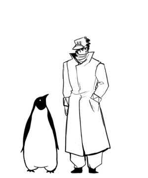 herzspalter:  An animal accepting the offer of friendship is the purest gift one can receive.I made this gif exactly one year ago and completely forgot to post it here, I thought I could finally share it on tumblr now that it's its birthday!! I just made this because I wanted Jotaro to hold a penguin <3: herzspalter:  An animal accepting the offer of friendship is the purest gift one can receive.I made this gif exactly one year ago and completely forgot to post it here, I thought I could finally share it on tumblr now that it's its birthday!! I just made this because I wanted Jotaro to hold a penguin <3