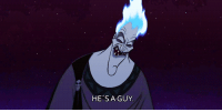 Disney, Love, and Movies: HE'S A GUY peacefullyy:  alucardhellsing:  noemail:  bowtiesarecooltoo:  I love watching Disney movies when you're older and come across scenes like this. I laughed for five minutes.  Hades was the original sassy gay friend.  Ofcoursehe is the sassy gay friend,look at him he flaming.  this post is perfect