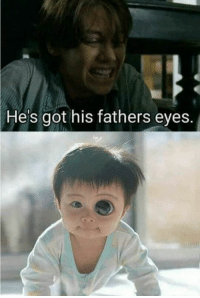He's got his fathers eyes. Def Glenn's baby ..  ~cm