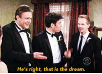 "Memes, Watch, and 🤖: He's right, that is the dream. When your friend says ""let's just watch HIMYM all day"" https://t.co/hSZyXlRKf9"
