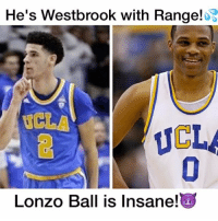 Lonzo wants to Be just Like Westbrook🙌💯 Follow ME(@DunkFilmz) if You Watched!👀: He's Westbrook with Range!  UCLA  Lonzo Ball is Insane! Lonzo wants to Be just Like Westbrook🙌💯 Follow ME(@DunkFilmz) if You Watched!👀