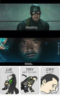 <p>I gotta say these scene breaks my heart 💔</p>: Hesmytriend..  Sowast  LIE  DOWN  TRY  NOT TO CRY  CRY  A LOT <p>I gotta say these scene breaks my heart 💔</p>