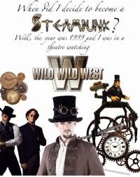 Will the real Willenial steam punks, please stand up? 🚂 👋: het decade ta became a  alt  he yea/ Was  Was a  theatre watchin  @whole foodsburrito Will the real Willenial steam punks, please stand up? 🚂 👋