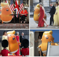 Donald Trumps first visit to the UK, July 13, 2018.: heute  SHoW Donald Trumps first visit to the UK, July 13, 2018.