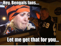 This Steelers fan is cold... Credit: Andrew John Wykoff | LIKE NFL Memes!: Hey Bengals fans....  COUNTRY  Let me getthat for you... This Steelers fan is cold... Credit: Andrew John Wykoff | LIKE NFL Memes!