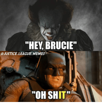 "Wow I made a pop culture meme! -Nightwing: ""HEY, BRUCIE""  A)JUSTICE. LEAGUE .MEMES-  ""OH SHIT Wow I made a pop culture meme! -Nightwing"