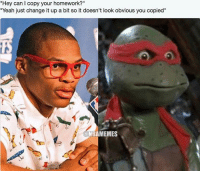 """⚔🐢 ... russell westbrook russ west thunder okc tmnt turtle turtles copy teenage mutant ninja teens nba meme memes basketball funny nbamemes: """"Hey can l copy your homework?""""  """"Yeah just change it up a bit so it doesn't look obvious you copied""""  NBAMEMES ⚔🐢 ... russell westbrook russ west thunder okc tmnt turtle turtles copy teenage mutant ninja teens nba meme memes basketball funny nbamemes"""