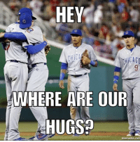 @addison_russell was wants some love, too. Cubs: HEY  CHICA  WHERE ARE OUR  HUGSO  nematic net @addison_russell was wants some love, too. Cubs