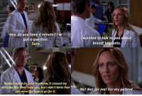 IVE MISSED TEDDY SO MUCH I CANT WAIT TO SEE HER AGAIN YAYYYYYYYY (If you don't know what I'm talking about, read my last post!!!!) — factsforgreys_kim factsforgreys_eric greys greysanatomy kimraver teddyaltman tenry marksloan mcsteamy slexie ericdane shondaland abc ga tgit like facts likeforlike like4like dancemoms: Hey, do you have a minute? I've  wanted to talk t  ou dbout  got a question.  breast implants.  Sure.  FACTSFORGREys  Really?! Good for you! You know, it crossed my  mind the first time I saw you, but I didn't think that  No! Not for me! For my patient.  you were the type to go for it. IVE MISSED TEDDY SO MUCH I CANT WAIT TO SEE HER AGAIN YAYYYYYYYY (If you don't know what I'm talking about, read my last post!!!!) — factsforgreys_kim factsforgreys_eric greys greysanatomy kimraver teddyaltman tenry marksloan mcsteamy slexie ericdane shondaland abc ga tgit like facts likeforlike like4like dancemoms
