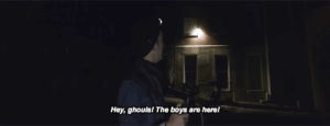 captainameriicas:shane letting the spirits know his presence : Hey, ghouls! The boys  are herel captainameriicas:shane letting the spirits know his presence