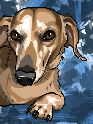 Hey Greg! I really like to draw dogs in my free time, of which I have a lot of these days. Anyways, I got caught up on commissions and other projects so I decided to draw Portillo! Hope that's alright. If you want the pdf let me know, printed on canvas they look pretty cool.: Hey Greg! I really like to draw dogs in my free time, of which I have a lot of these days. Anyways, I got caught up on commissions and other projects so I decided to draw Portillo! Hope that's alright. If you want the pdf let me know, printed on canvas they look pretty cool.